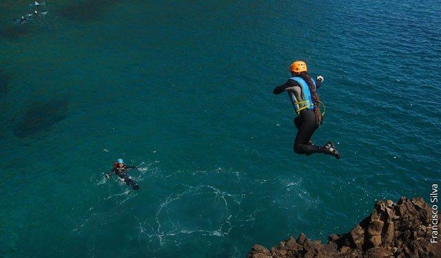 Coasteering – Santa Maria – Açores