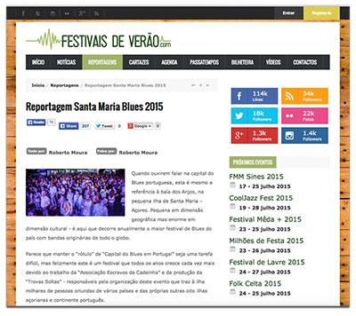 Site Festivais de Verão - Casa do Norte